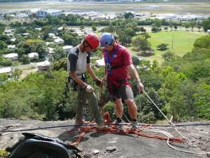 cairns adventure park abseiling rock climbing